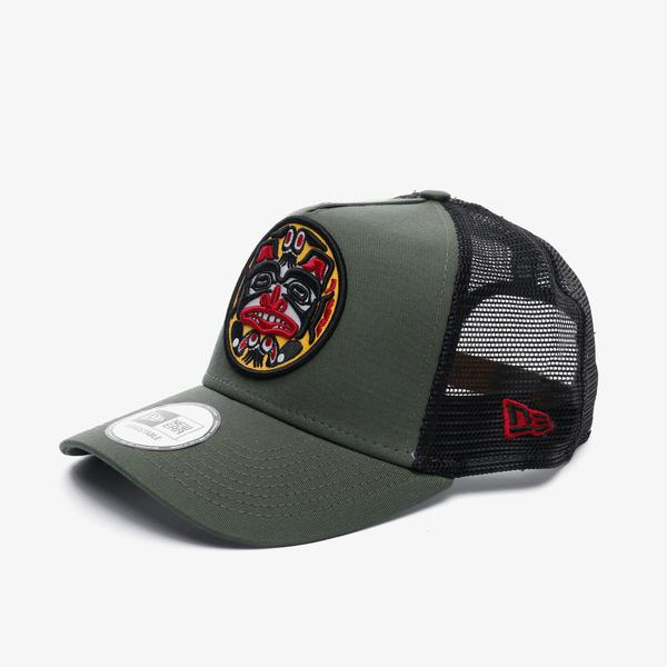 New Era Ne Tattoo Pack Af Trucker Unisex Yeşil Şapka