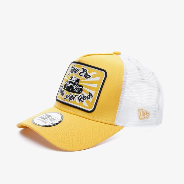 New Era Ne Hotrod Af Trucker Unisex Sarı Şapka