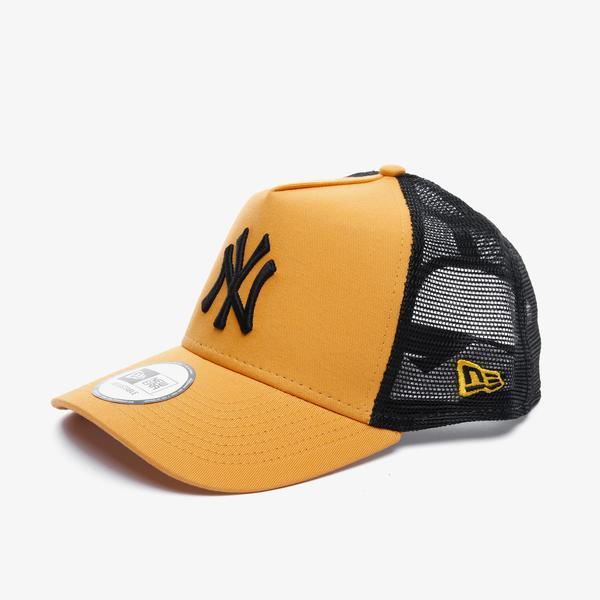 New Era League Essential Af Trucker New York Yankees Unisex Turuncu Şapka