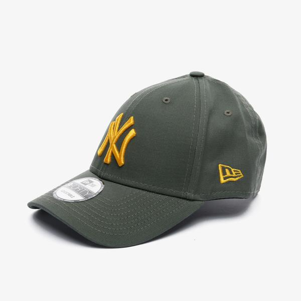 New Era League Essential 9Forty New York Yankees Unisex Yeşil Şapka
