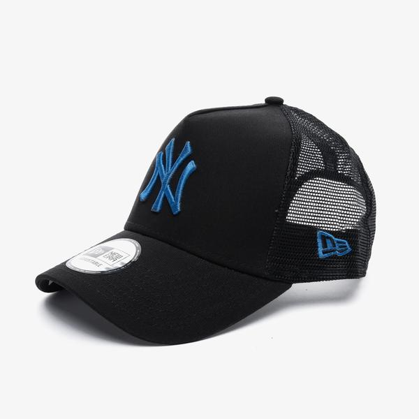 New Era League Essential Af Trucker New York Yankees Unisex Siyah Şapka