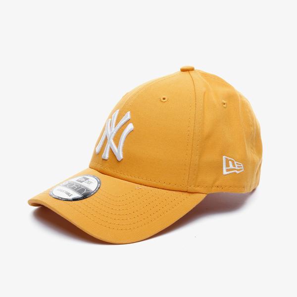 New Era League Essential 9Forty New York Yankees Unisex Turuncu Şapka