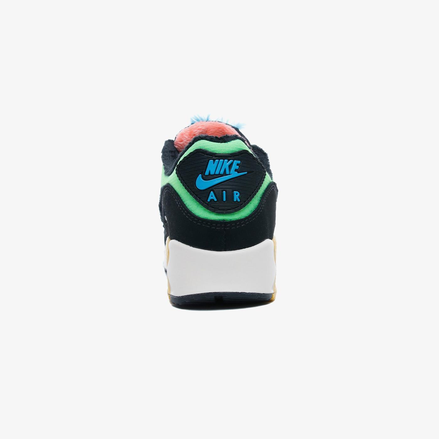 Nike Air Max 90 Premium Kadın Siyah Spor Ayakkabı