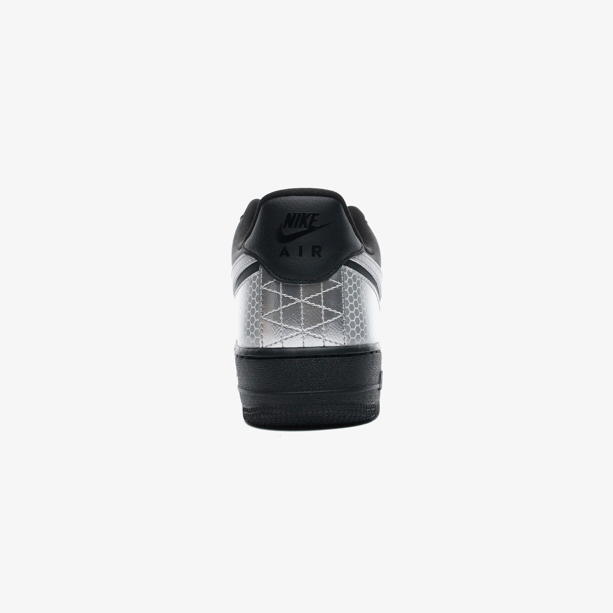 Air Force 1 '07 LV8 3M Erkek Siyah Spor Ayakkabı
