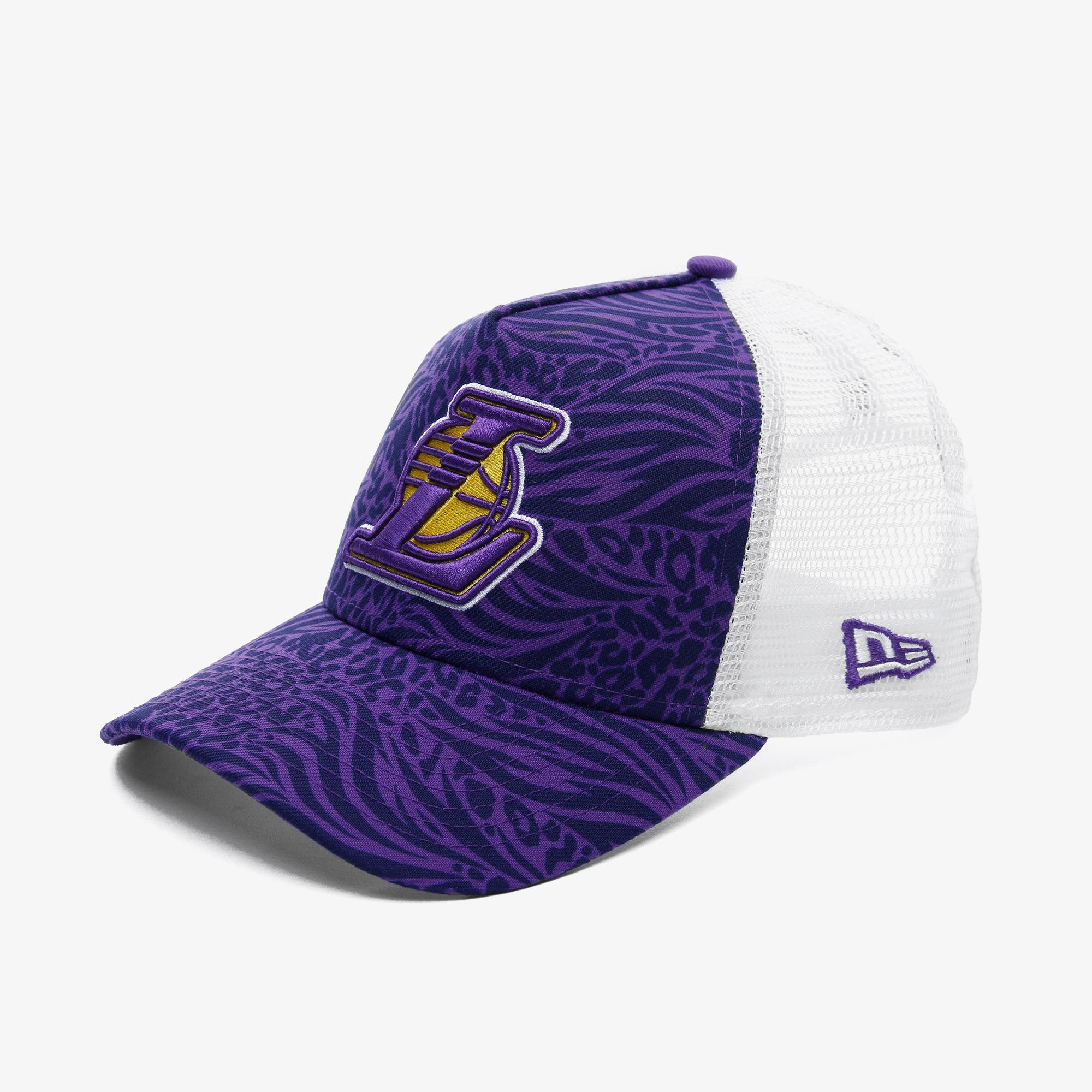 New Era Los Angeles Lakers Unisex Mor Şapka
