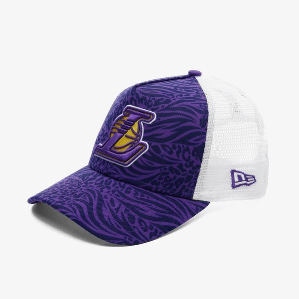New Era Los Angeles Lakers Unisex Mor Şapka