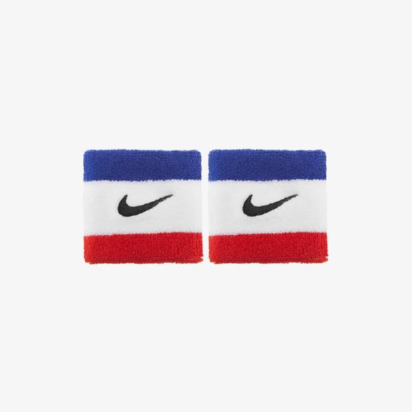Nike Swoosh Unisex Siyah-Kırmızı Bileklik