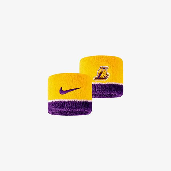 Nike NBA Los Angeles Lakers Sarı Bileklik
