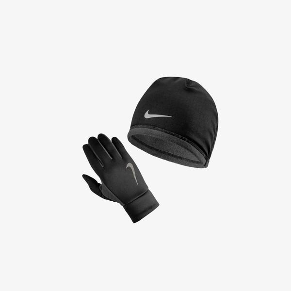 Nike Run Thermal Erkek Siyah Bere Seti