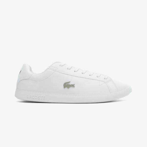 Lacoste Graduate 0721 1 Sma Erkek Beyaz Spor Ayakkabı