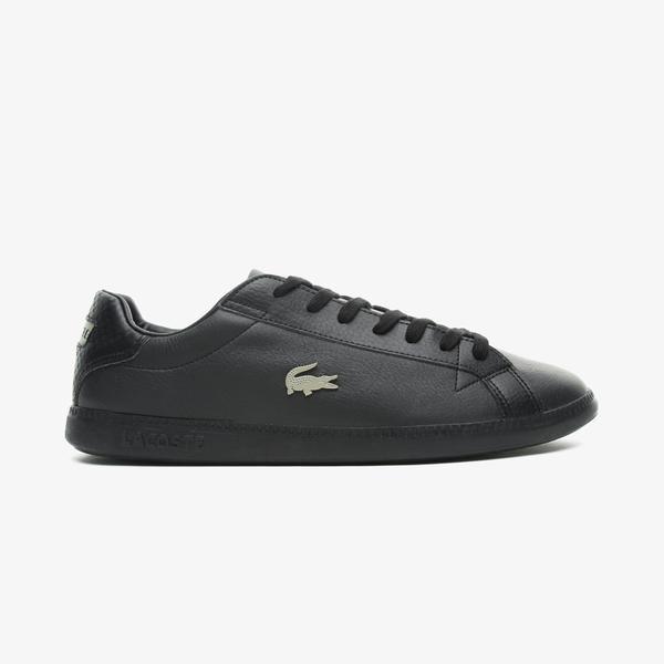 Lacoste Graduate 0721 1 Sma Erkek Siyah Spor Ayakkabı