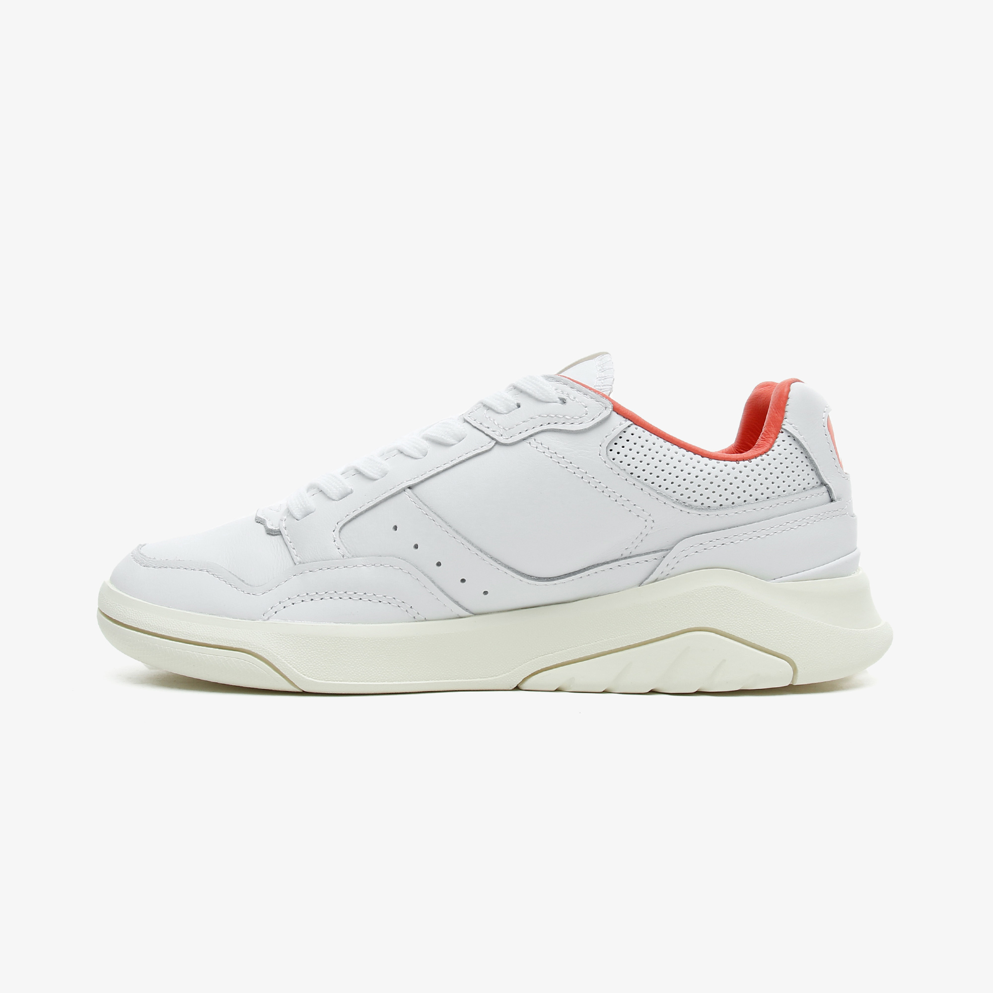 Lacoste Gameadvance Luxe 07212Sfa Kadın Beyaz - Pembe Spor Ayakkabı