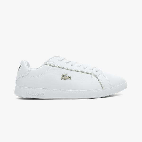 Lacoste Graduate 0721 1 Sfa Kadın Beyaz Spor Ayakkabı
