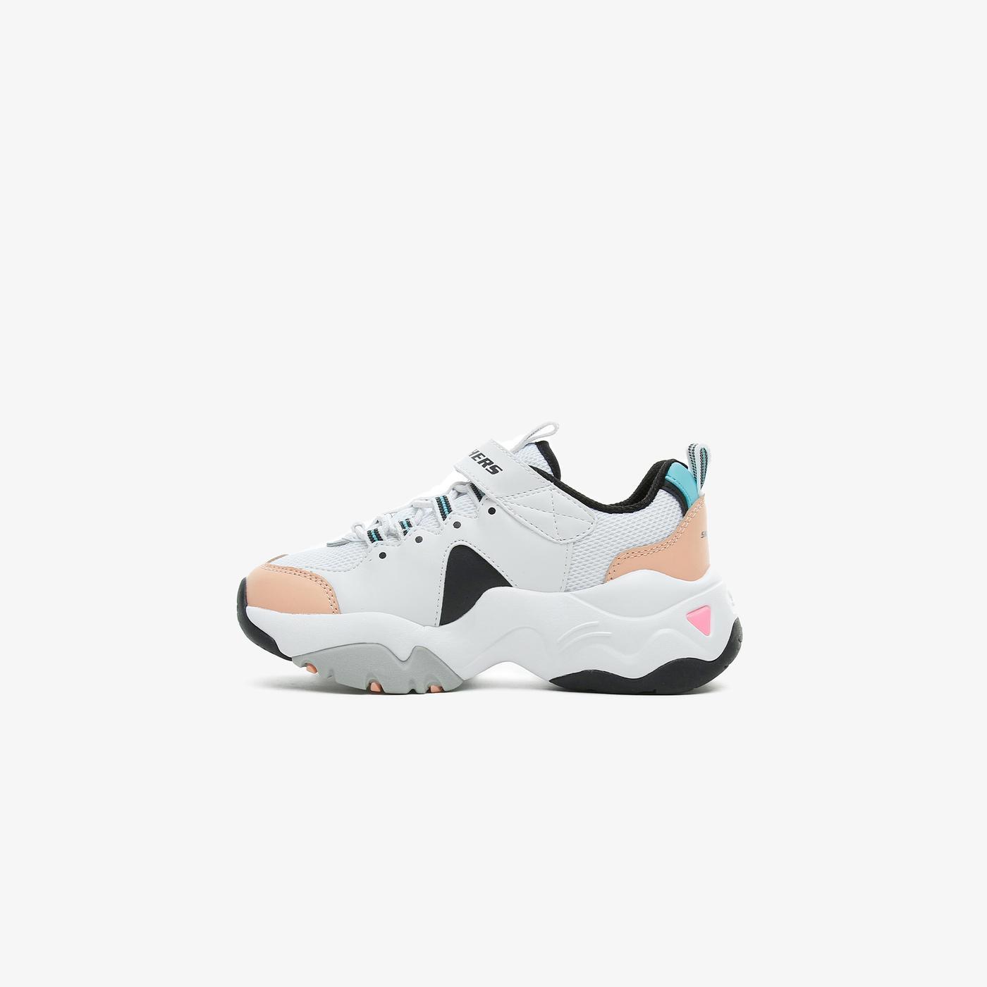 Skechers D'Lites 3.0 - Zenway ii Çocuk Beyaz Spor Ayakkabı