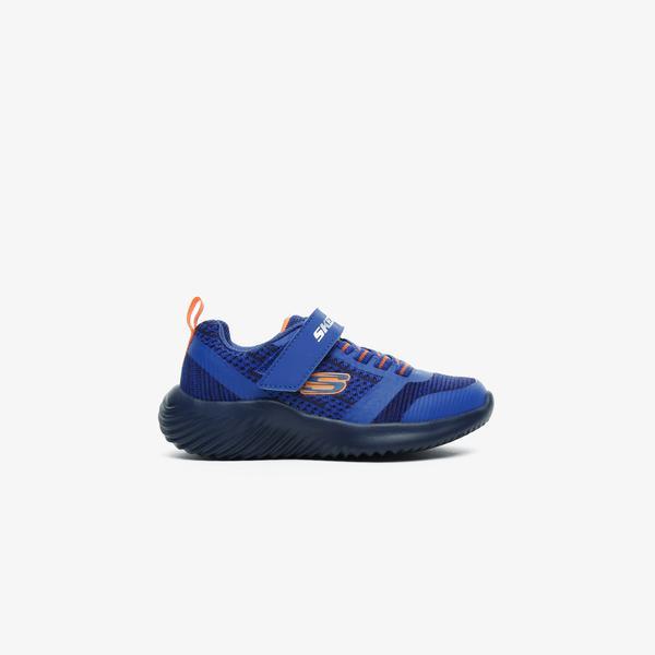 Skechers Bounder-Zallow Çocuk Mavi Spor Ayakkabı