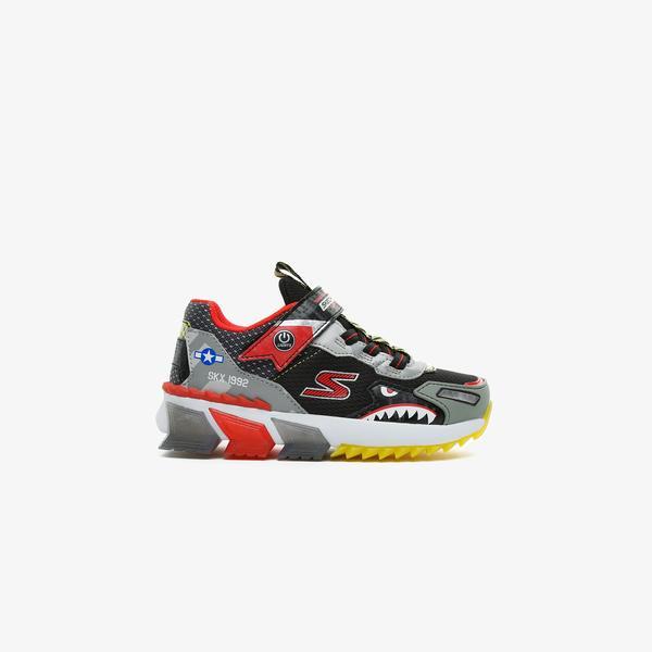 Skechers Skech-Jetz Lights Çocuk Siyah Spor Ayakkabı