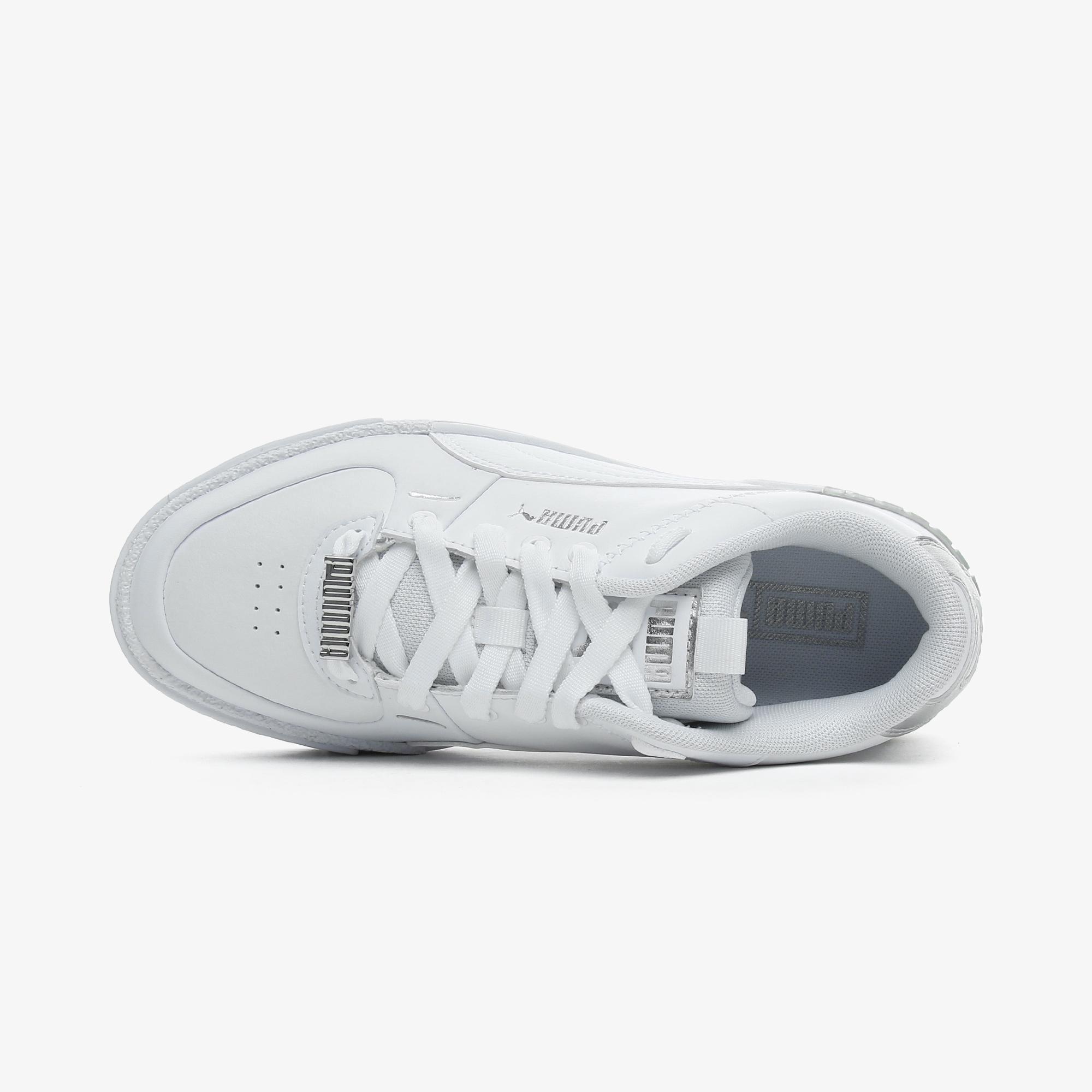 Puma Cali Sport Metallic Kadın Beyaz Spor Ayakkabı