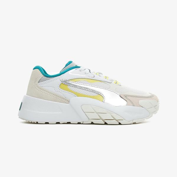 Puma Hedra OQ Kadın Krem Spor Ayakkabı