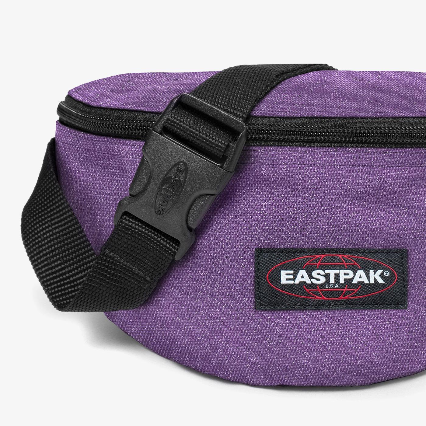 Eastpak Springer Sparkly Petunia Unisex Mor Bel Çantası