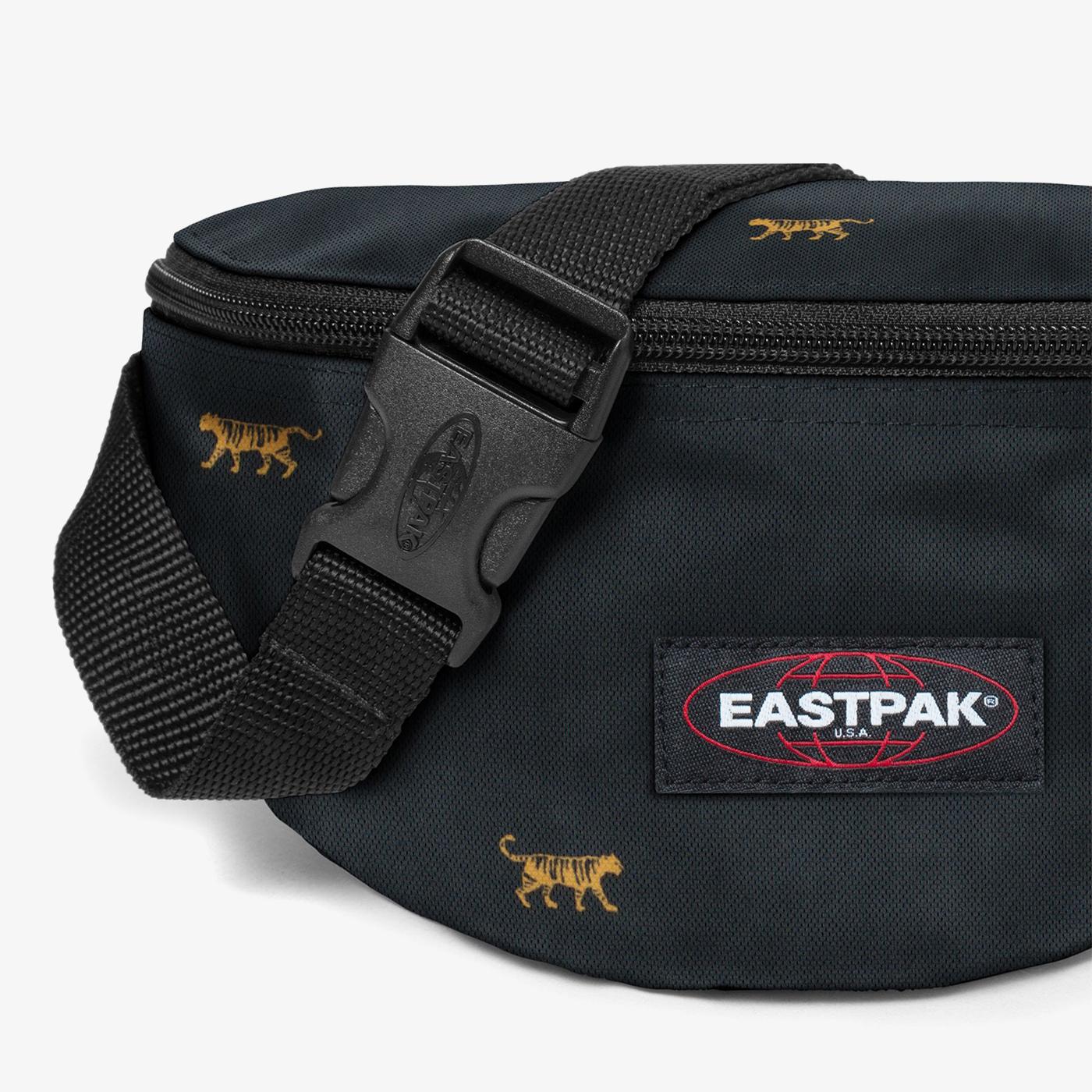 Eastpak Springer Mini Tiger Unisex Siyah Bel Çantası
