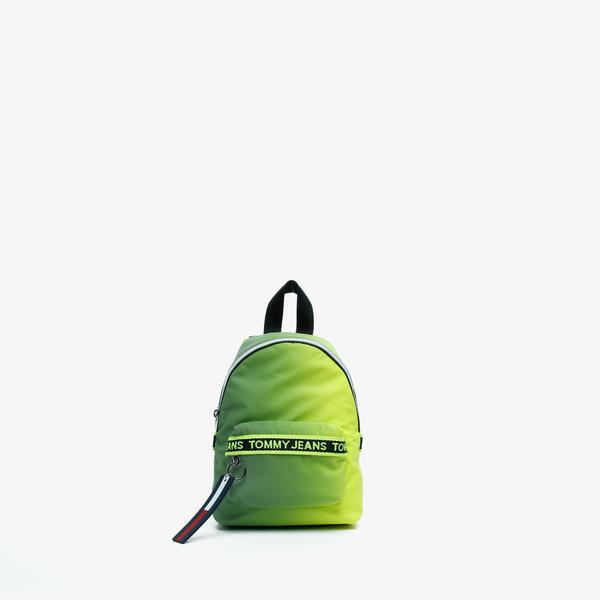Tommy Hilfiger TJW Mini Logo Tape Reflect Kadın Yeşil Sırt Çantası