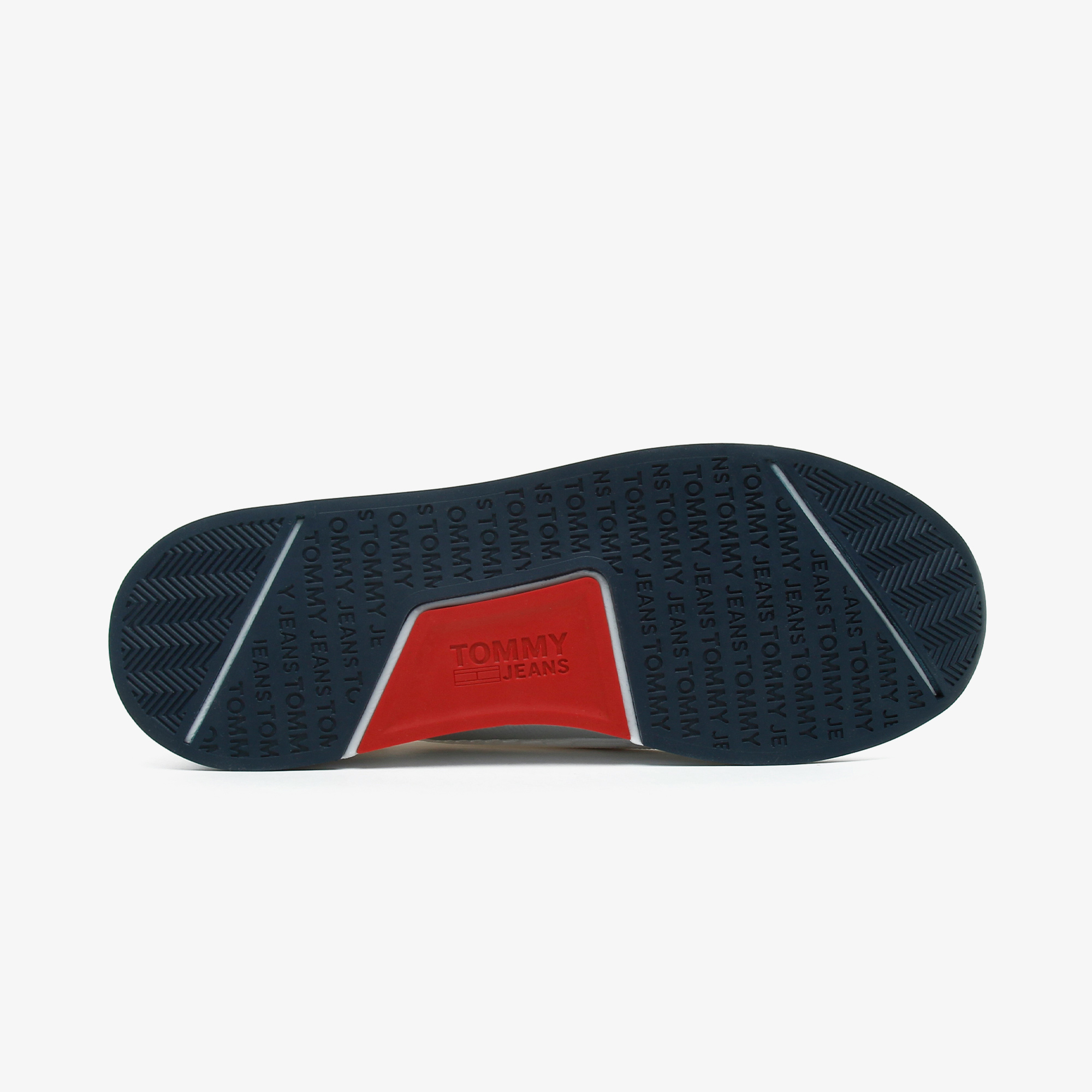 Tommy Hilfiger Tommy Jeans Flexi Sock Runner Erkek Beyaz Spor Ayakkabı
