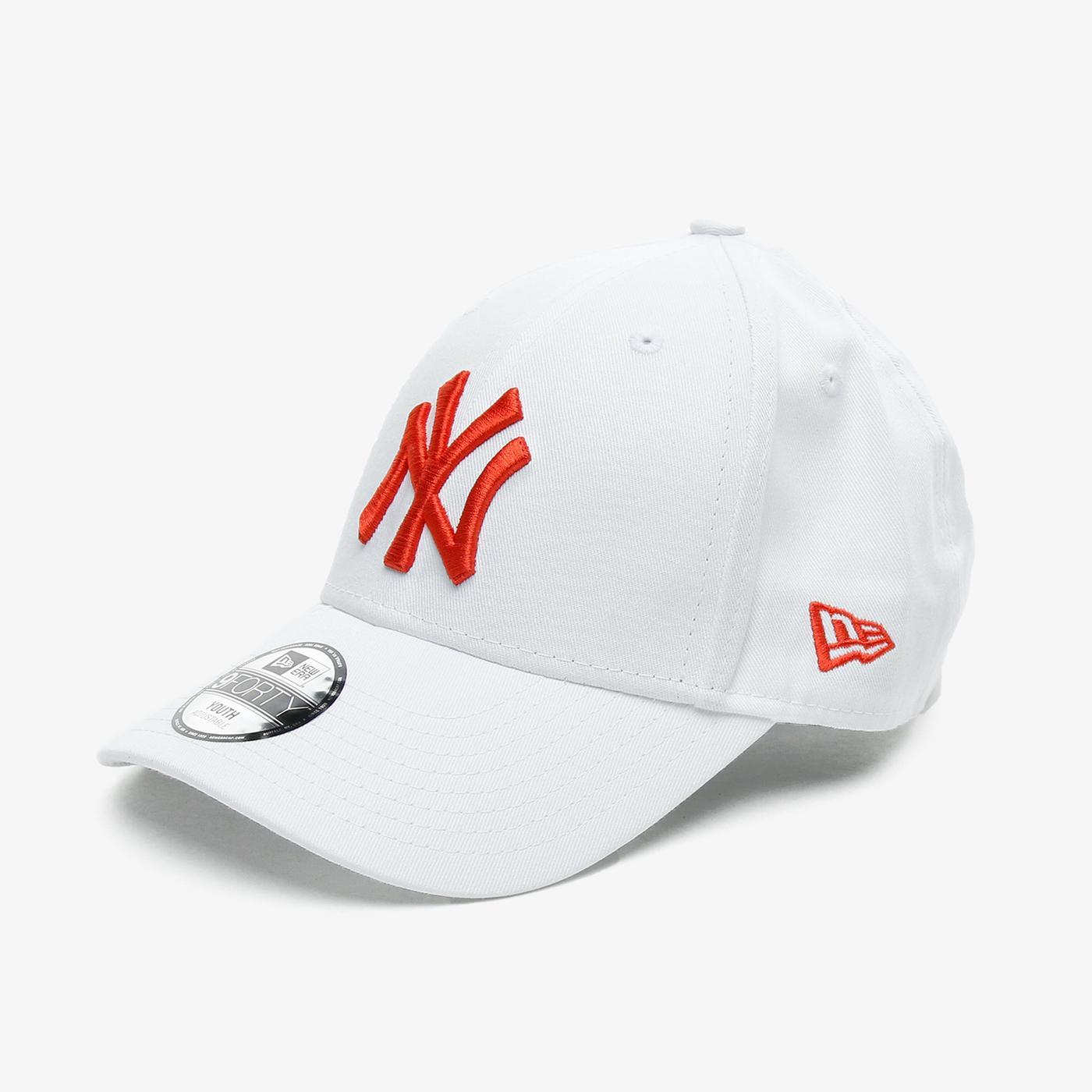 New Era Y League ESS 9Forty Neyyan Çocuk Beyaz Şapka