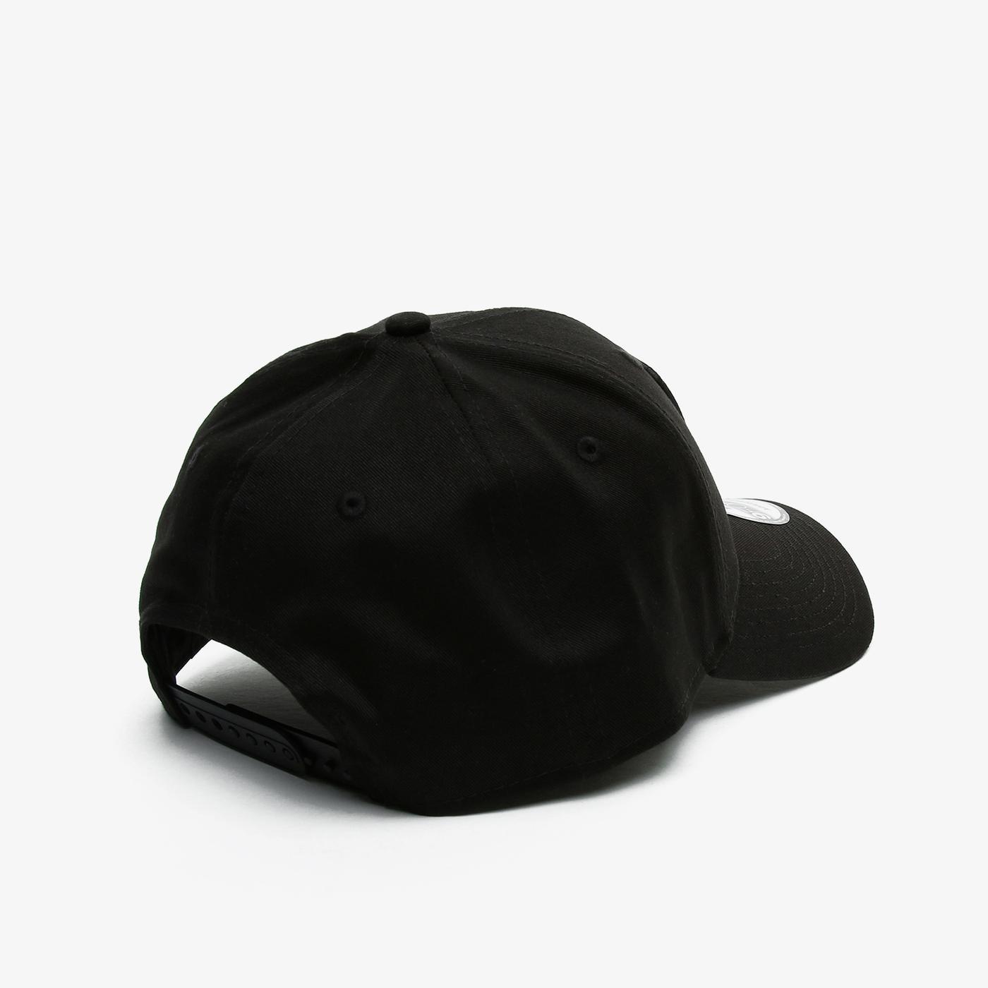 New Era Black Base 9Forty Snapback Lasrai Unisex Siyah Şapka