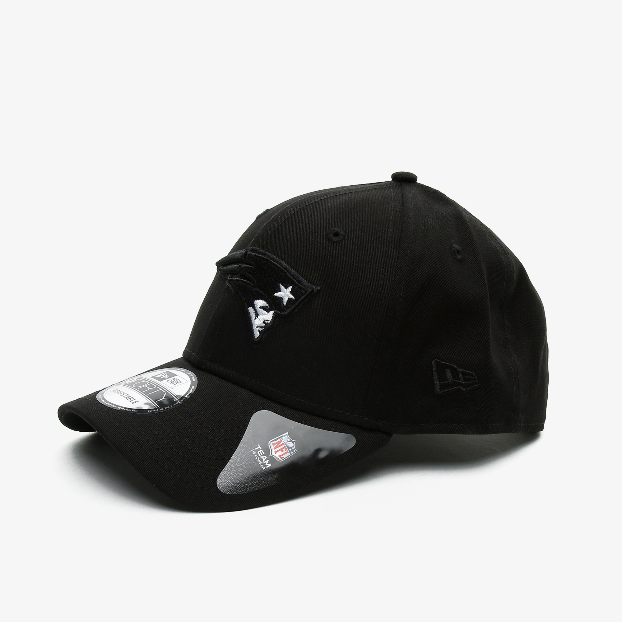 New Era Black Base 9Forty Snapback Neepat Unisex Siyah Şapka