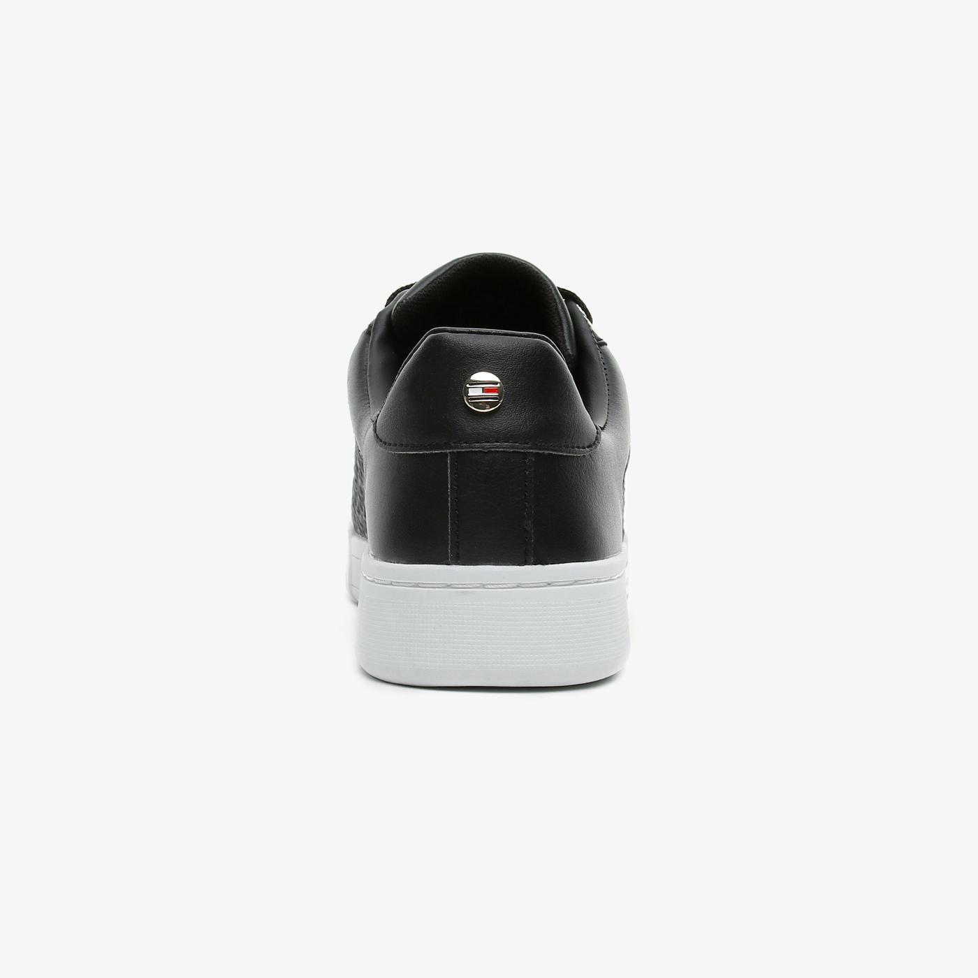 Tommy Hilfiger Monogram Elevated Kadın Siyah Spor Ayakkabı