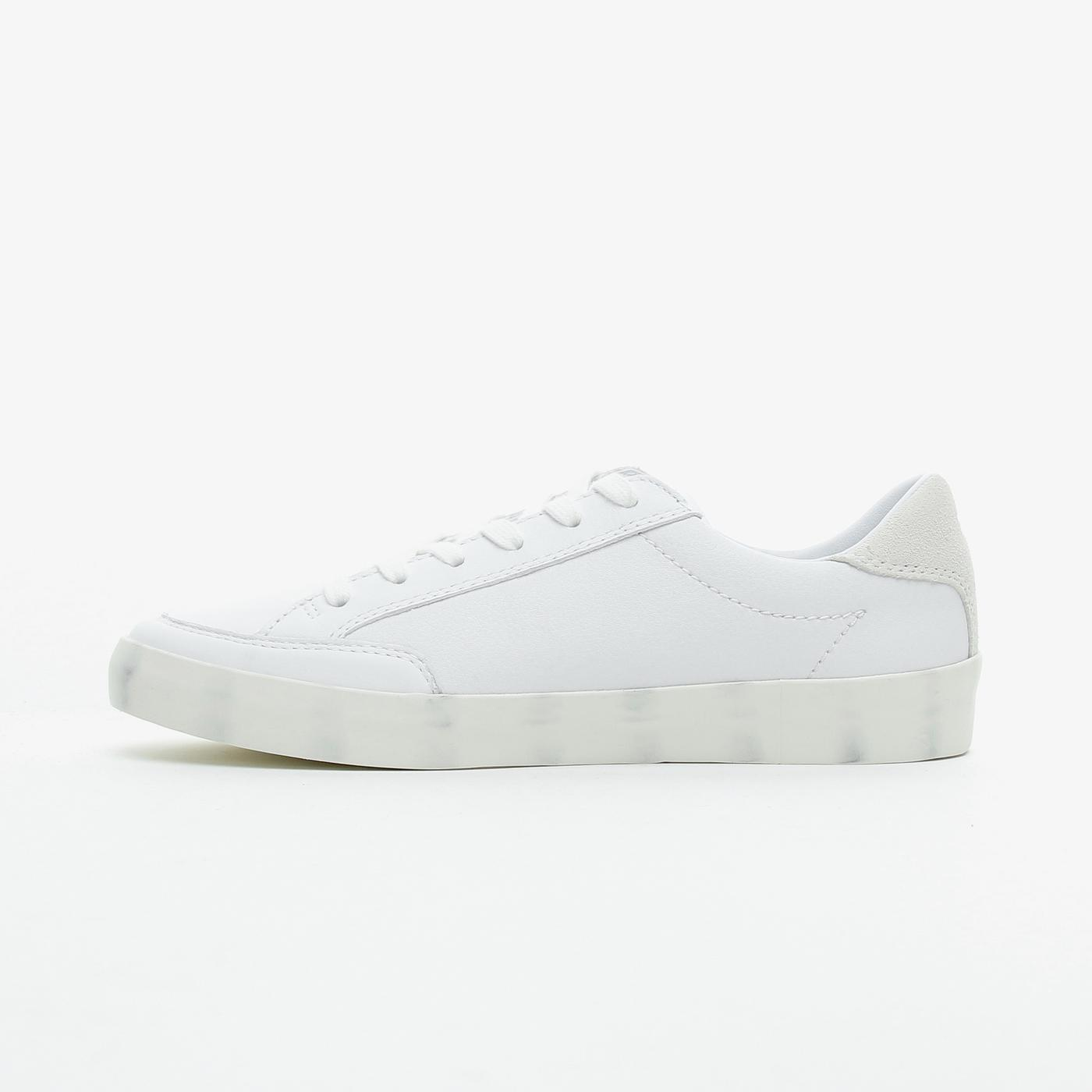 Tommy Hilfiger Signature Leaer Kadın Beyaz Spor Ayakkabı