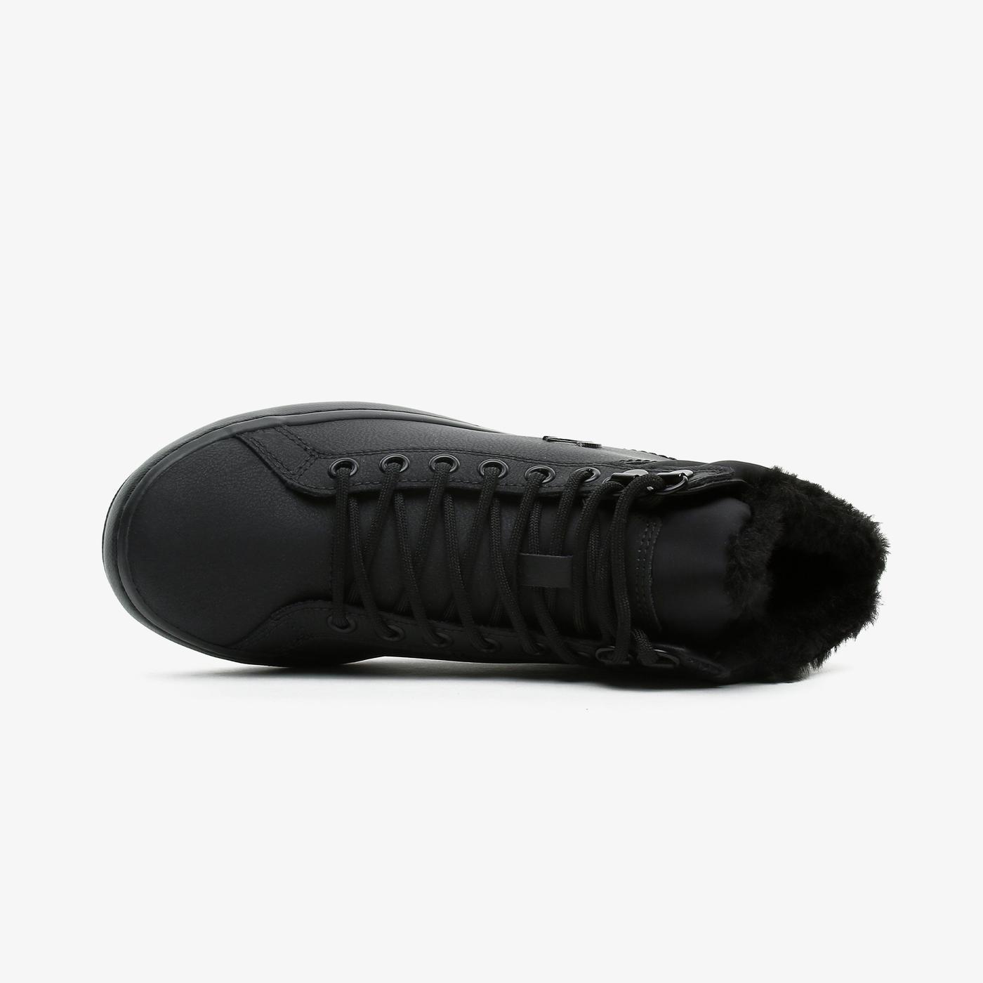 Lacoste Straightset Kadın Siyah Spor Ayakkabı
