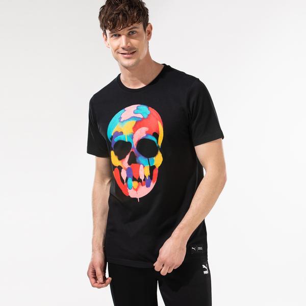 Puma x Bradley Theodore Erkek Siyah T-Shirt