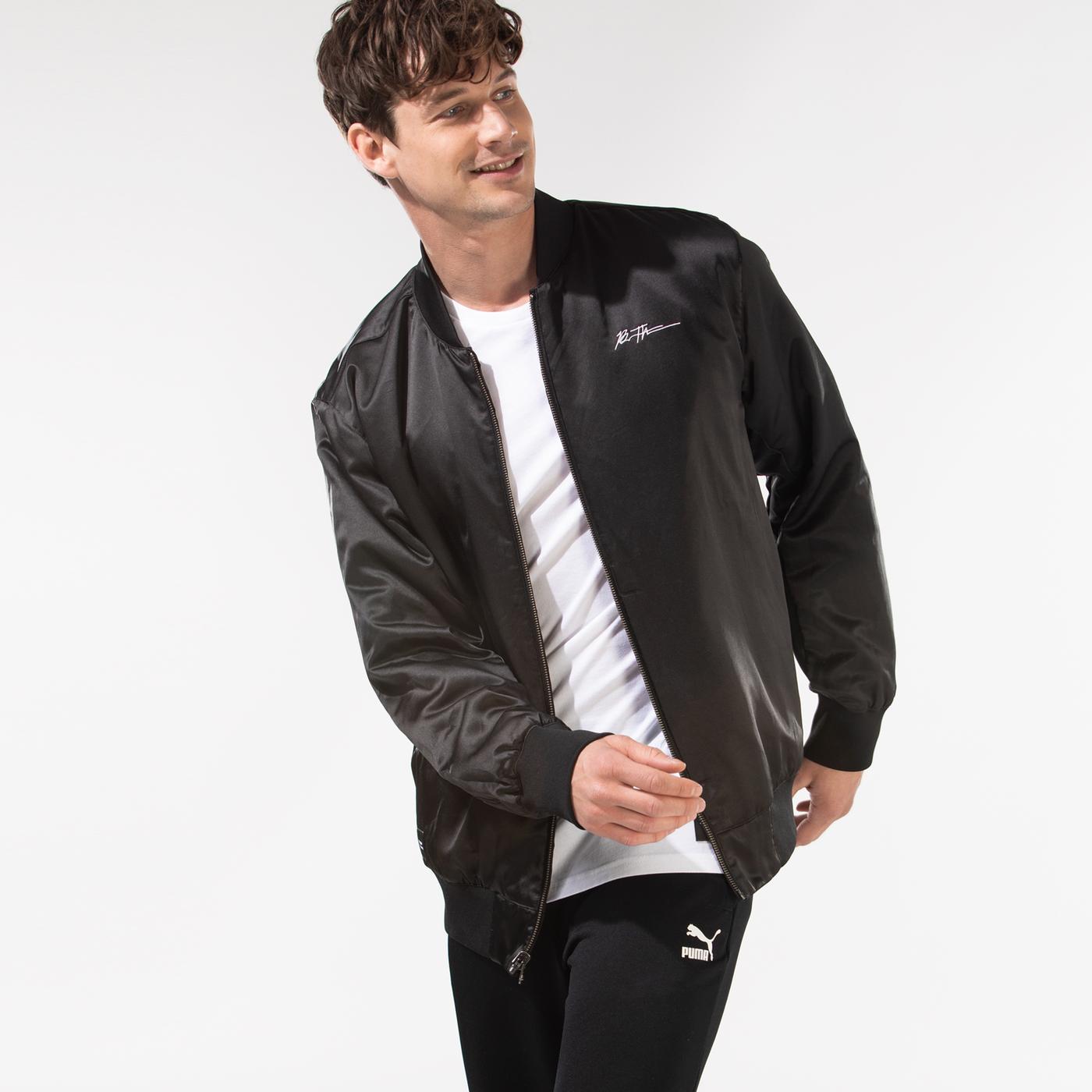 Puma x Bradley Theodore Erkek Siyah Ceket