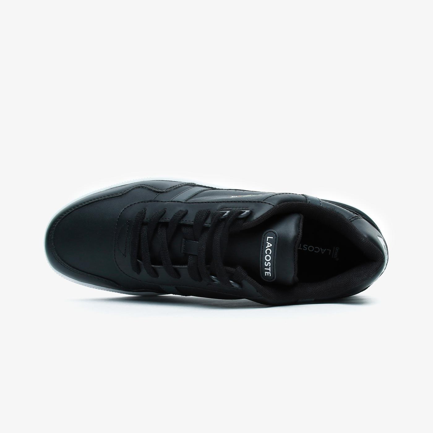 Lacoste T-Clip 0721 2 Sma Erkek Siyah - Antrasit Spor Ayakkabı