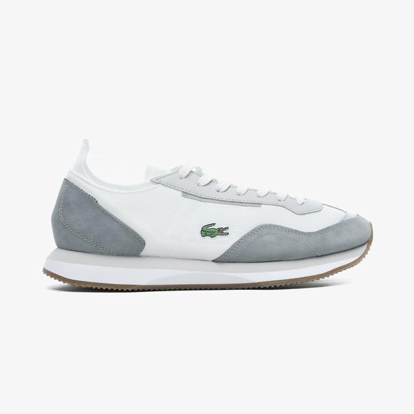 Lacoste Match Break 0721 1 G Sma Erkek Beyaz - Gri Spor Ayakkabı
