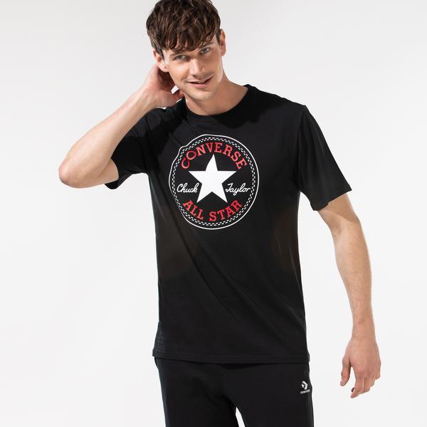 Converse Nova Chuck Patch Erkek Siyah T-Shirt