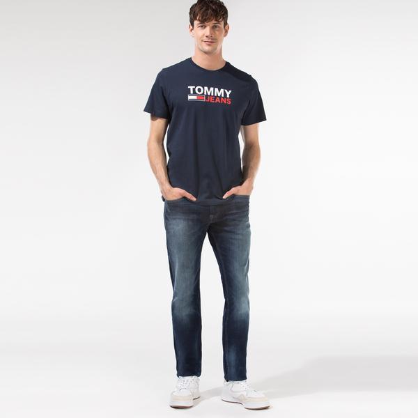 Tommy Hilfiger Scanton Slim Cnds Erkek Lacivert Jean
