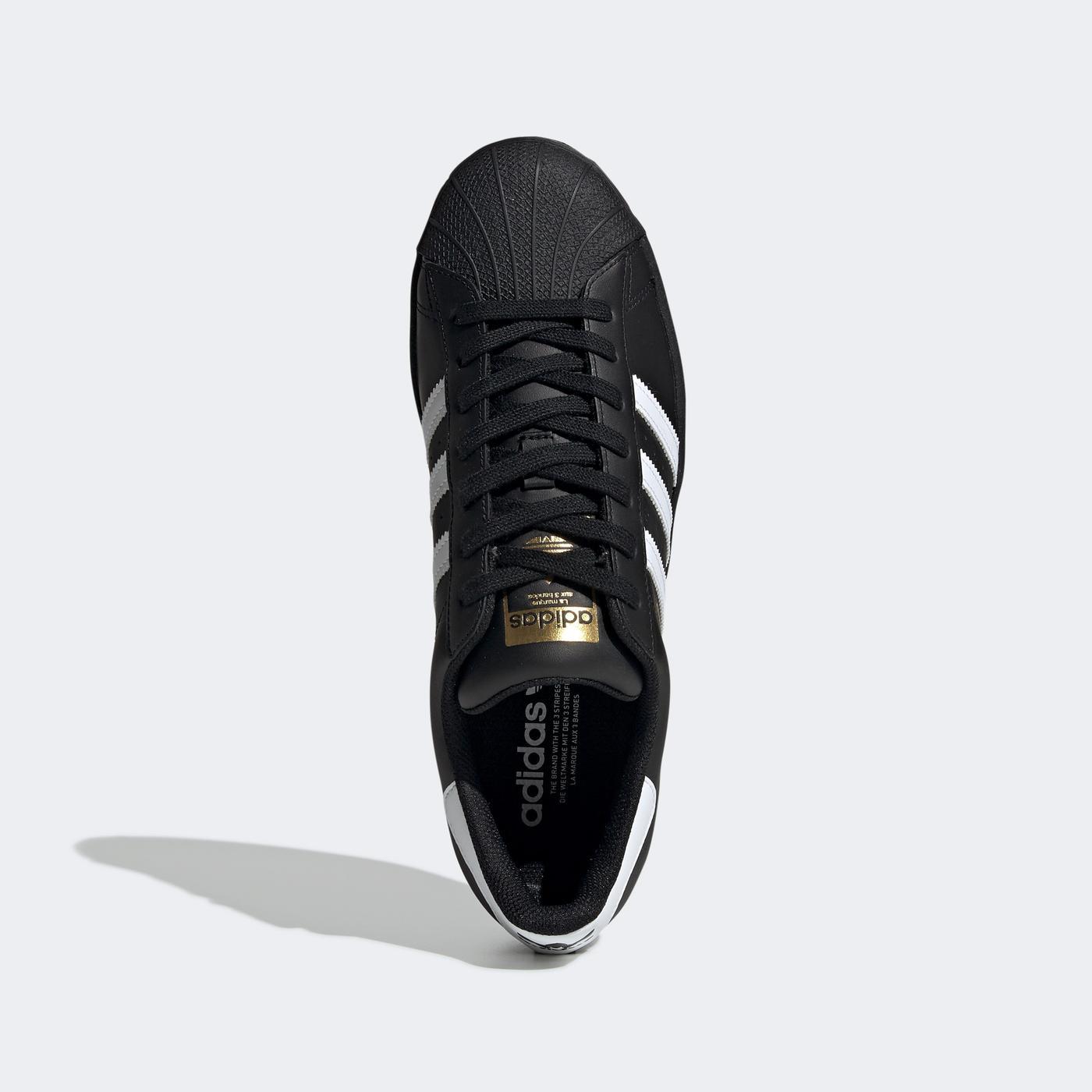 adidas Superstar Erkek Siyah Spor Ayakkabı