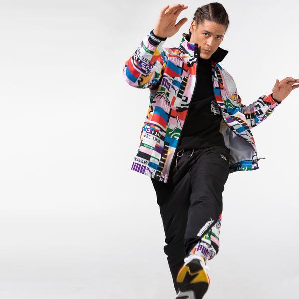 Puma International Lab Erkek Renkli Ceket