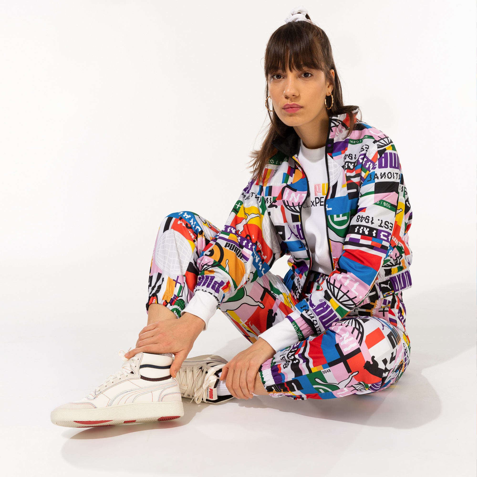 Puma International Kadın Renkli Ceket