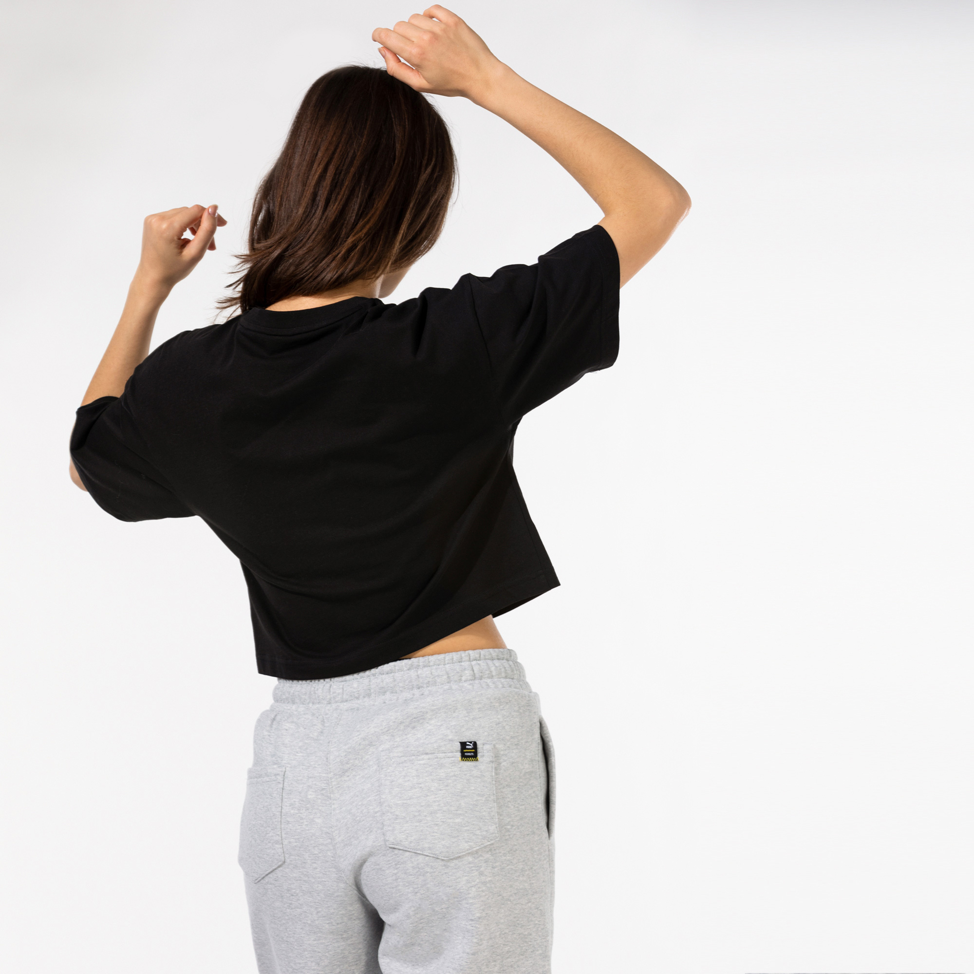 Puma International Graphic Kadın Siyah T-Shirt