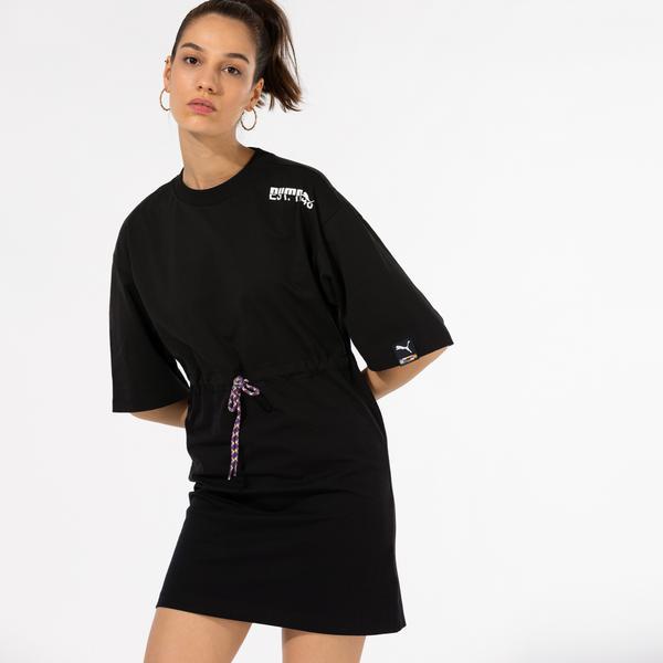 Puma International Kadın Siyah Elbise