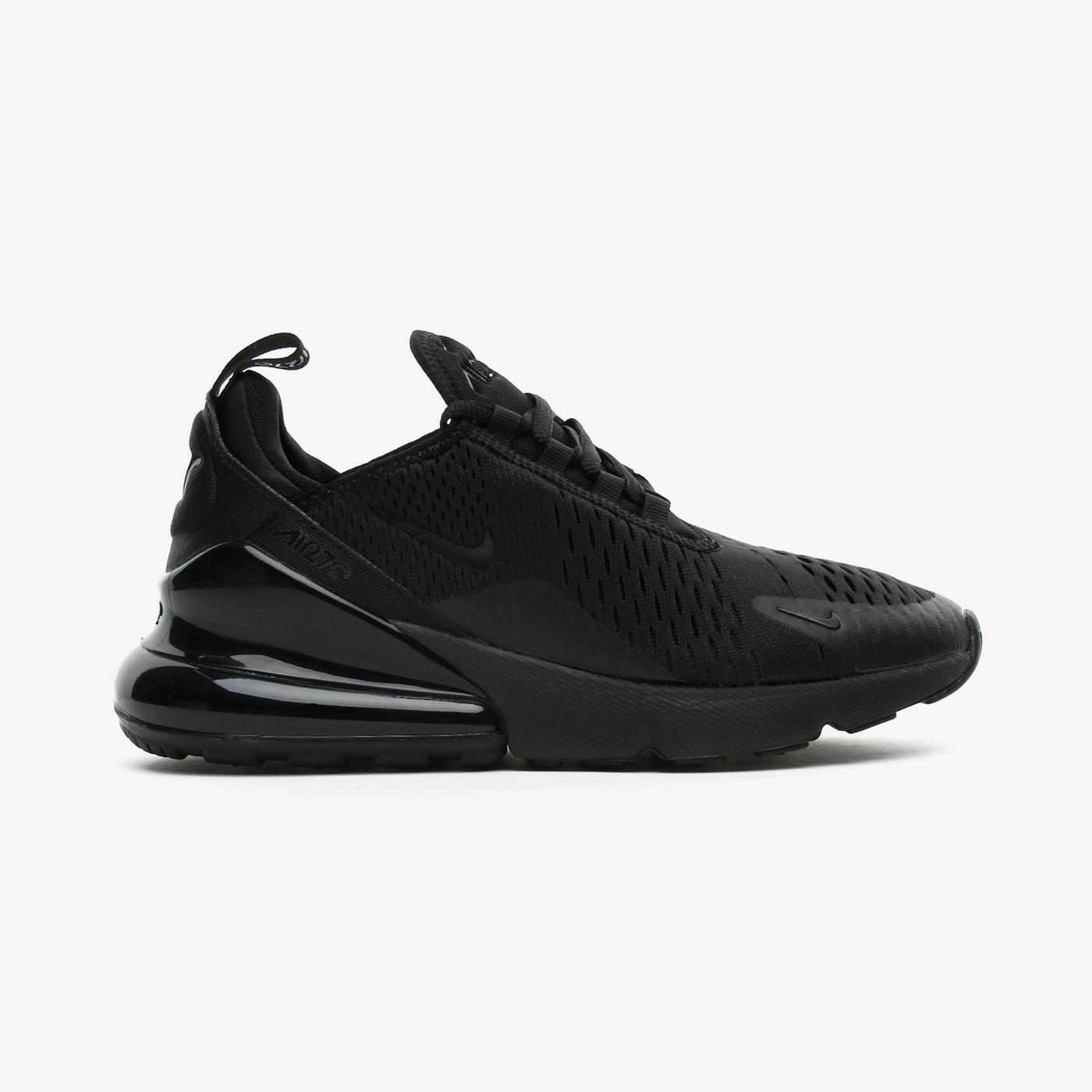 Nike Air Max 270 Gs Kadın Siyah Spor Ayakkabı