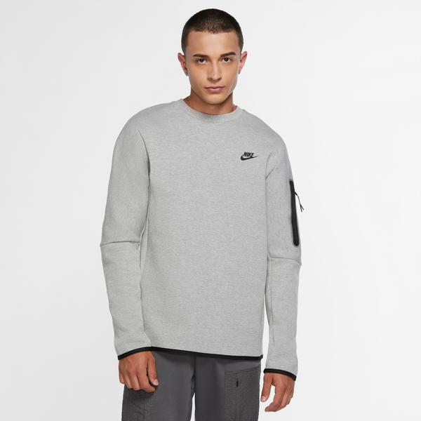 Nike Sportswear Tech Fleece Erkek Siyah T-Shirt