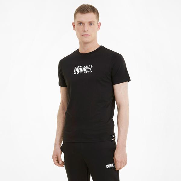Puma International Erkek Siyah T-Shirt