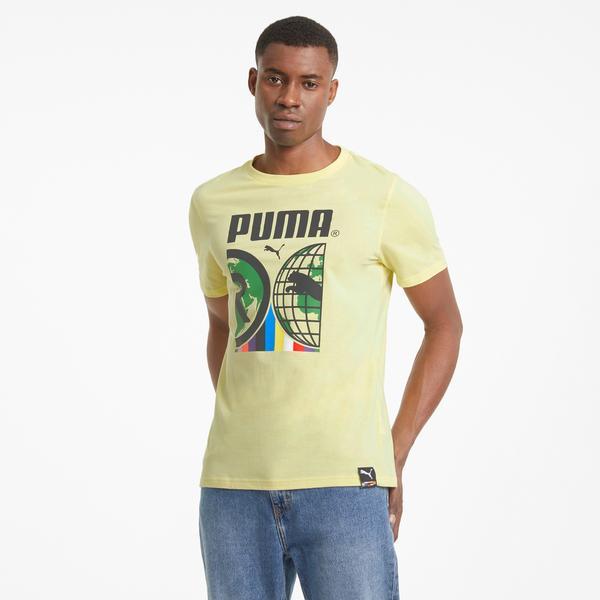 Puma International Erkek Sarı T-Shirt
