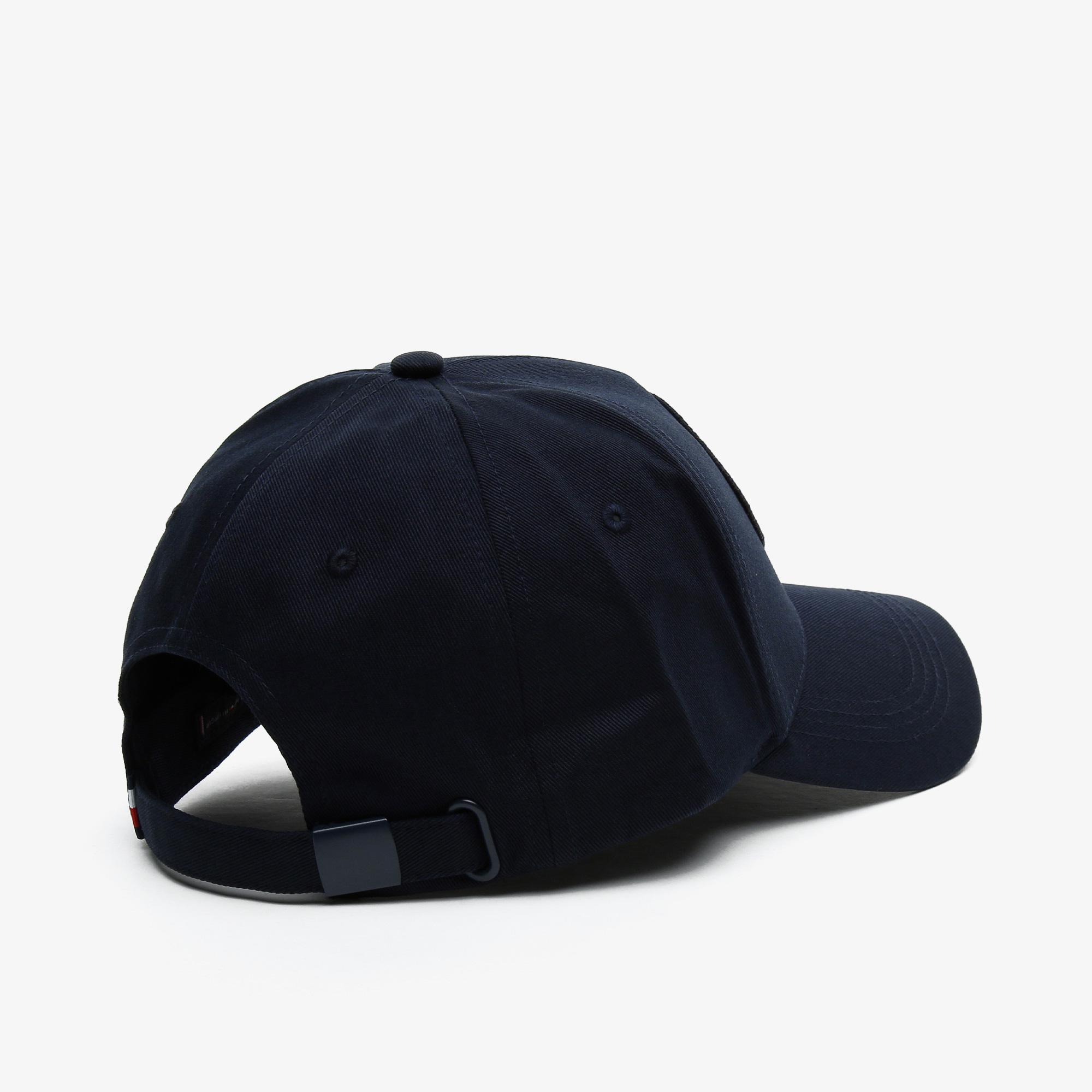 Tommy Hilfiger Round Patch Erkek Lacivert Şapka