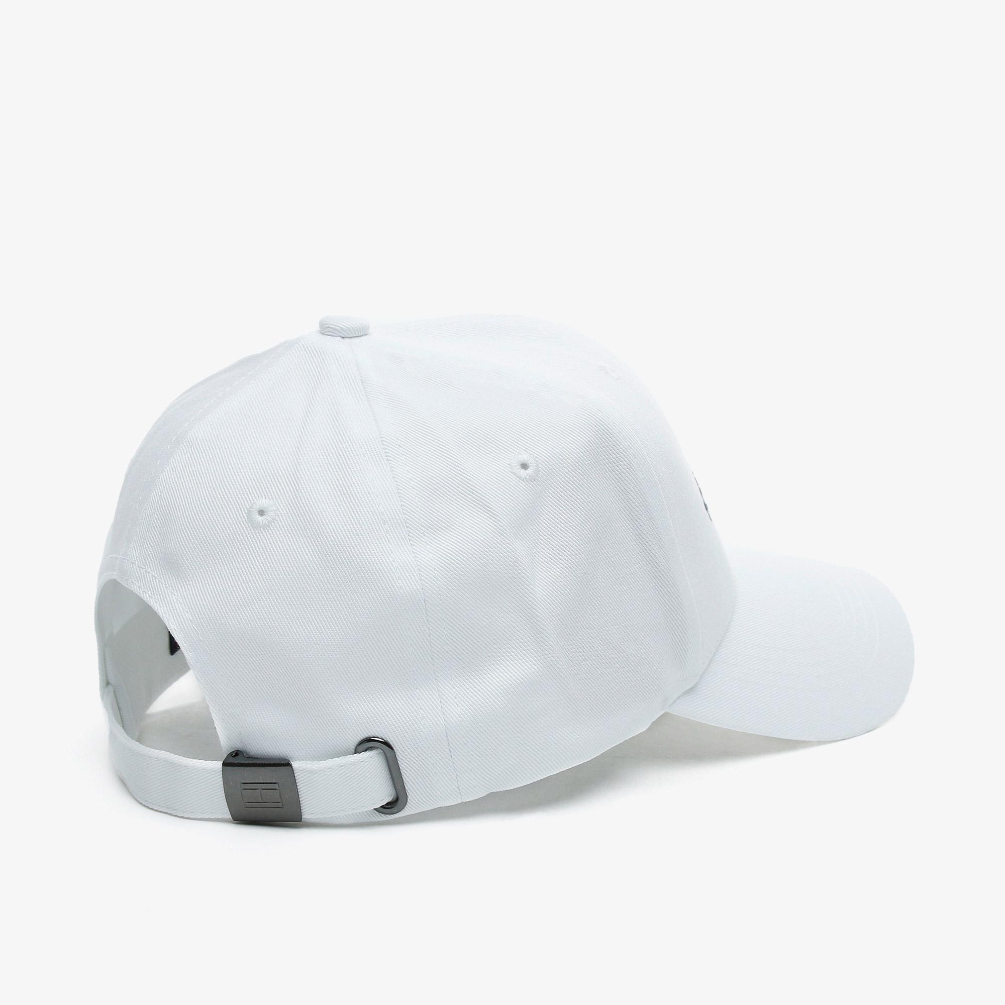 Tommy Hilfiger Established Erkek Beyaz Şapka