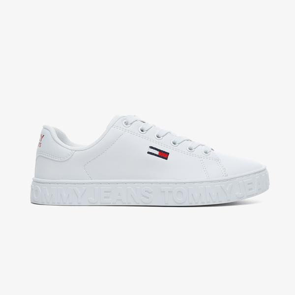 Tommy Hilfiger Cool Tommy Jeans Kadın Beyaz Spor Ayakkabı